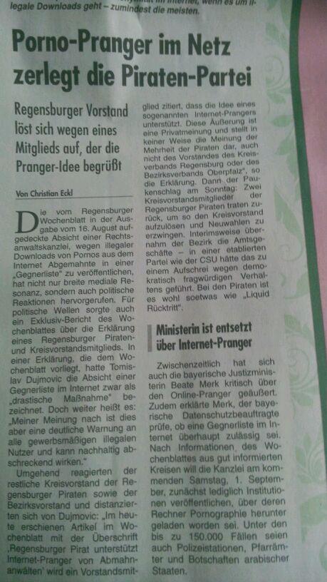 Artikel vom 30.08.2012